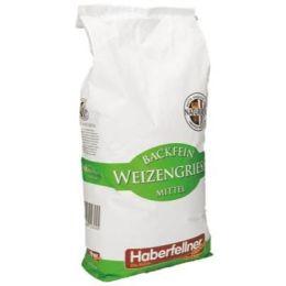 Haberfellner Weizengriess mittel 10kg