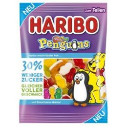 Haribo Fruity Penguins zuckerreduziert 160g