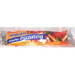 Henglein frischer Pizzateig auf Backpapier