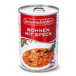 Inzersdorfer Bohnen mit Speck 400g