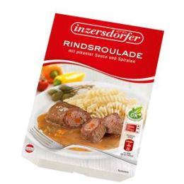 Inzersdorfer Rindsroulade in pikanter Sauce mit Spirali