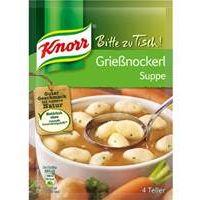 Knorr Bitte zu Tisch Grießnockerl Suppe