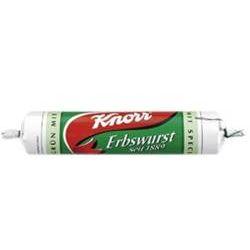 Knorr Erbswurst grün - mit Speck
