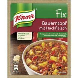 Knorr Fix für Bauerntopf mit Hackfleisch