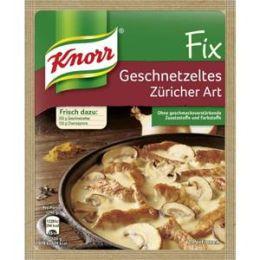 Knorr Fix für Geschnetzeltes Züricher Art