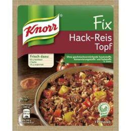 Knorr Fix für Hack-Reis Topf