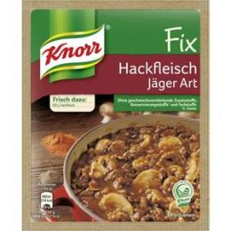 Knorr Fix für Hackfleisch Jäger Art