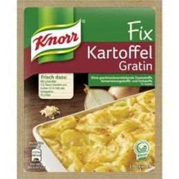 Knorr Fix für Kartoffel Gratin