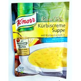 Knorr Kaiser Teller Kürbiscreme Suppe