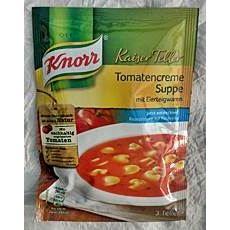 Knorr Kaiser Teller Tomatencreme Suppe