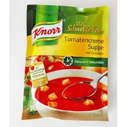 Knorr Schnelle Feine Tomatencreme Suppe m. Croutons