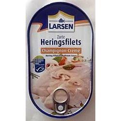 Larsen zarte Heringsfilets Champignon-Creme