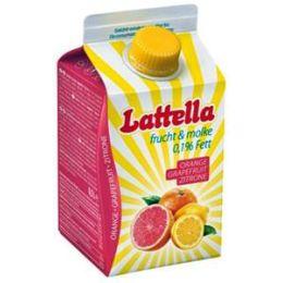 Lattella Molkedrink Grapefruit/Orange  500 ml