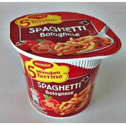 Maggi 5-Minuten Terrine Spaghetti Bolognese