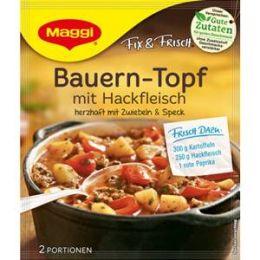 Maggi Fix & Frisch Fix für Bauern-Topf mit Hackfleisch