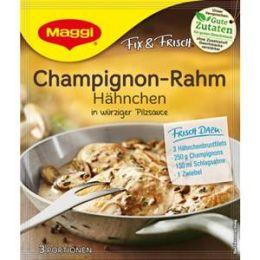 Maggi Fix & Frisch Fix für Champignon-Rahm Hähnchen