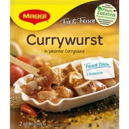 Maggi Fix & Frisch Fix für Currywurst