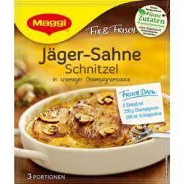 Maggi Fix & Frisch Fix für Jäger-Sahne Schnitzel
