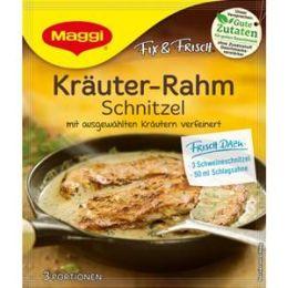 Maggi Fix & Frisch Fix für Kräuter-Rahm Schnitzel