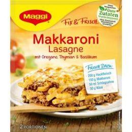 Maggi Fix & Frisch Fix für Makkaroni Lasagne