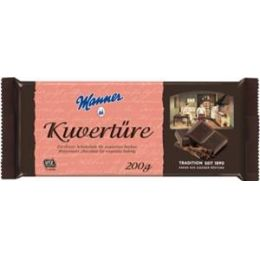 Manner Zartbitter Kuvertüre 200g