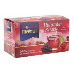 Meßmer Tee Holunder-Kirsche 20er