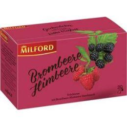 Milford Früchtetee Brombeere - Himbeere