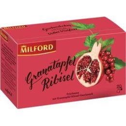 Milford Früchtetee Granatapfel - Ribisel