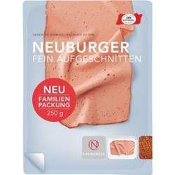 Neuburger Leberkäse - fein aufgeschnitten - 250g