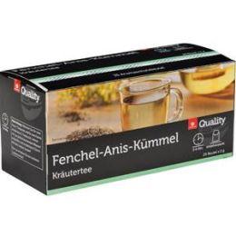 Quality Kräutertee Fenchel Anis Kümmel