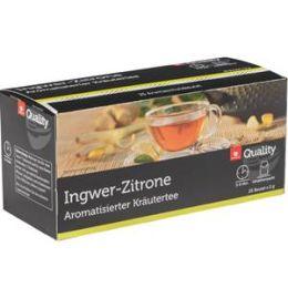 Quality Kräutertee Ingwer Zitrone