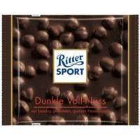 Ritter Sport Schokolade Dunkle Vollnuss 5 x 100g