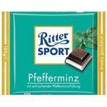 Ritter Sport Schokolade Pfefferminz 5 x 100g