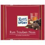 Ritter Sport Schokolade Rum Traube Nuss 5 x 100g