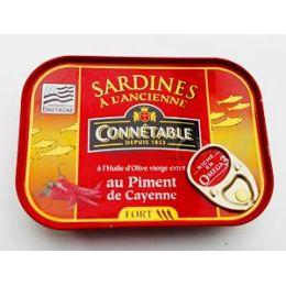 Sardinen a L´Ancienne au Piment de Cayenne