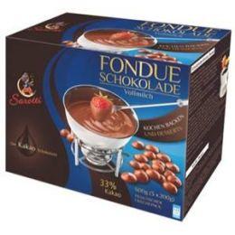 Sarotti Fondue Schokolade Vollmilch 600 g