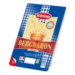 Schärdinger Käse Bergbaron in Scheiben 45% Fett i.Tr. .