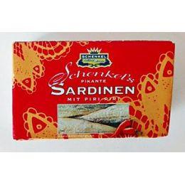 Schenkel´s pikante Sardinen mit Piri Piri