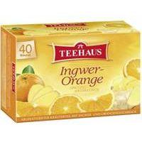 TEEHAUS Ingwer-Orange 40 Teebeutel
