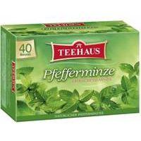 TEEHAUS Pfefferminze 40 Teebeutel