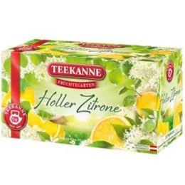 Teekanne Früchtegarten Holler / Zitrone 20 er