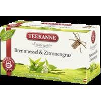 Teekanne Kräutergarten Brennessel mit Zitronengras