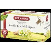 Teekanne Kräutergarten Kamille-Fenchel-Ingwer