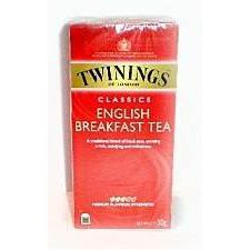 Twinings Tea of London English Breakfast 25 Teabags