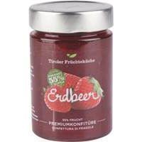 Unterweger Premium - Konfitüre Erdbeer 55% Fruchtanteil 420 g