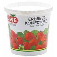 UWE Erdbeer Konfitüre Extra 700g