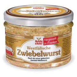 Westfälische Zwiebelwurst im Glas 200g