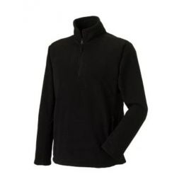 1/4 Zip Outdoor Fleece Black S