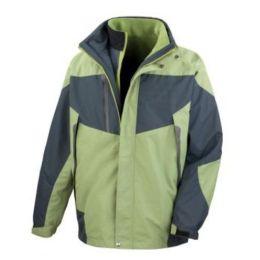 3-in-1 Aspen Jacket Aspen Green/Grey 2XL