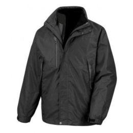 3-in-1 Aspen Jacket Black 4XL